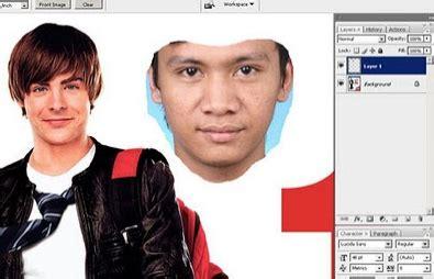 tutorial edit foto ganti wajah cara edit foto ganti wajah dengan photoshop mudah dan
