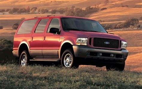ford excursion fuel capacity used 2004 ford excursion diesel pricing for sale edmunds