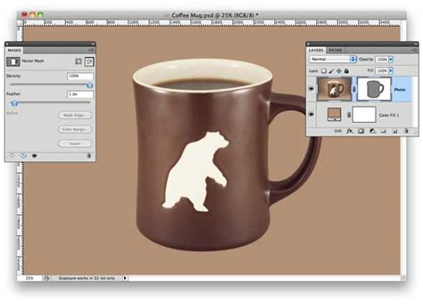 tutorial photoshop vector mask how to create vector masks in photoshop macworld