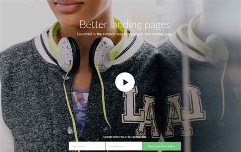 themeforest launchkit 20 beautiful html landing page templates