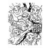 Teen Titans Coloring  Drawing