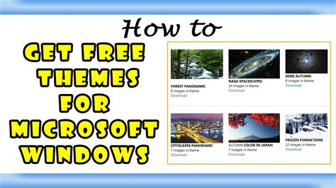 themes my pc com howto get windows theme for free beautiful desktop themes