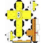Create Your Own Paper Sponge &171 SpongeBobs Adventures