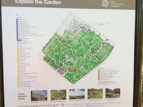 Royal Botanic Gardens Map Map Of The Garden Picture Of Royal Botanic Garden Edinburgh Edinburgh Tripadvisor