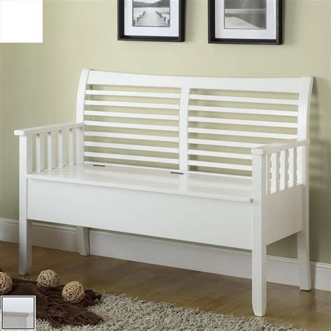 entryway bench white with arm stabbedinback foyer