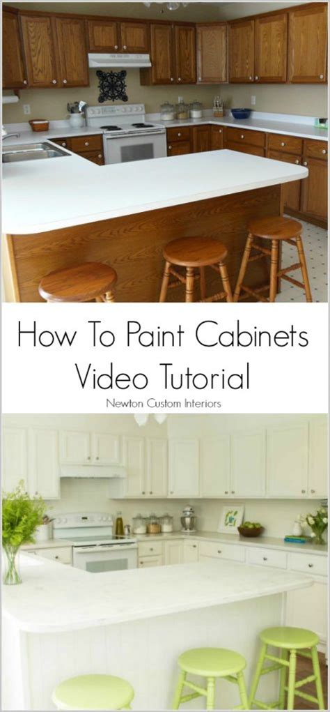 youtube how to paint kitchen cabinets how to paint cabinets newton custom interiors