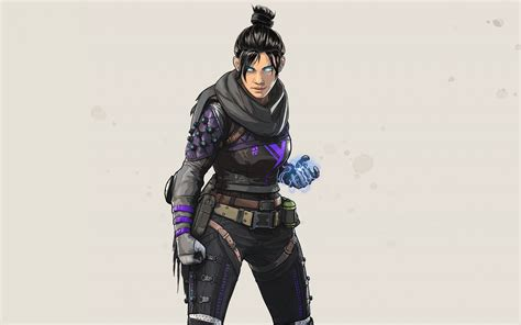 downaload artwork wraith angry girl apex legends