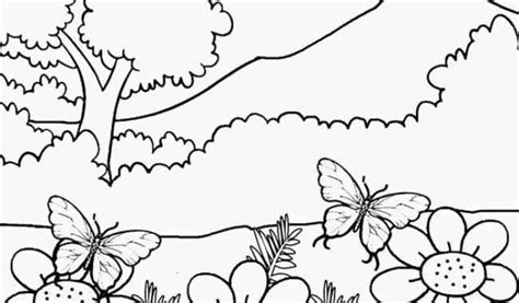 coloring pages spring nature 98 nature coloring pages online spring nature
