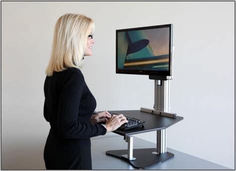 kangaroo desk stand kangaroo stand up or sit desktop desk home design