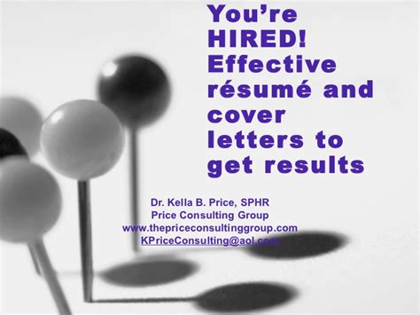 Cover Letters That Get You Hired by You Re Hired Effective R 233 Sum 233 And Cover Letters Printable Version