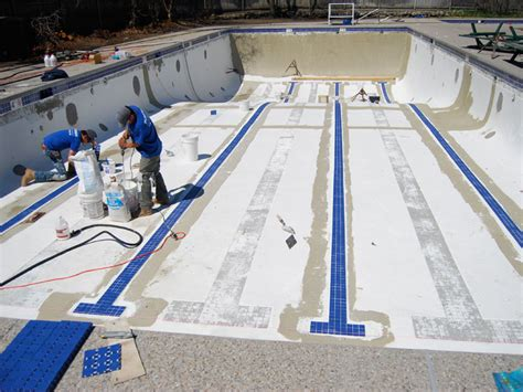 commercial pool services  renovations puraqua pool