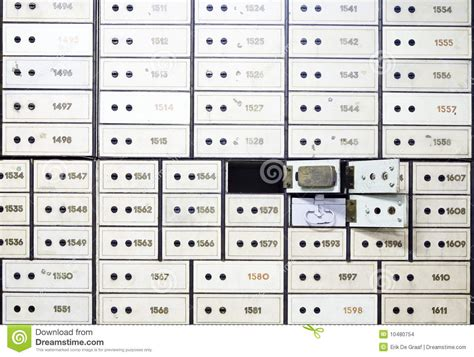 Safety Box Di Bank Mandiri antique safe deposit boxes stock images image 10480754