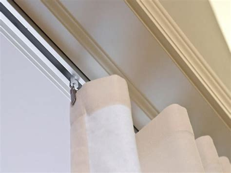 curtains rails ceiling modern ceiling curtain track home depot sitting room