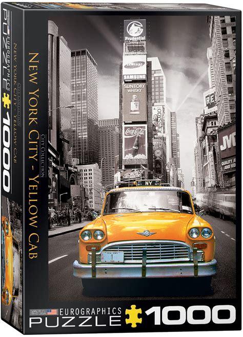 york yellow cab puzzle  eurographics