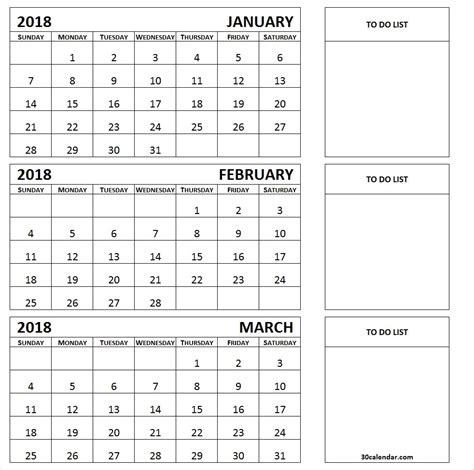 three month calendar template printable 3 month calendar 2018 printable calendar