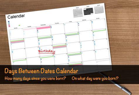 Calendar Day Calculator Day Born Calendar Calendar