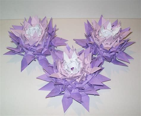 Origami Crane Centerpiece - 10 origami crane flower origami crane wedding decoration