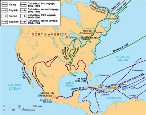 European Exploration Of The New World Essay by Fall 2000 American History Ii Notes From 9 5 00