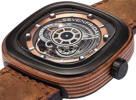 Seven Friday New Series sevenfriday p2b 03 w woody limited edition