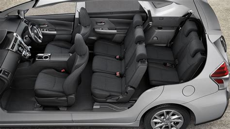 space seating toyota prius v gallery