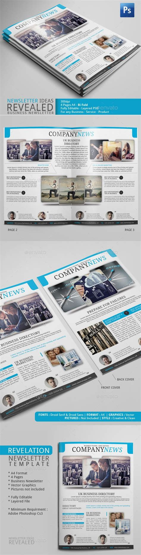 newsletter layout photoshop 17 best images about newsletter exles adobe photoshop