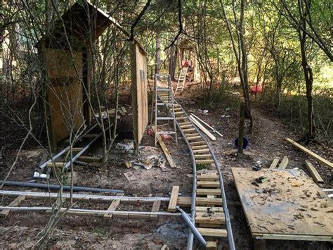 backyard coaster georgia teen builds custom backyard roller coaster over 5