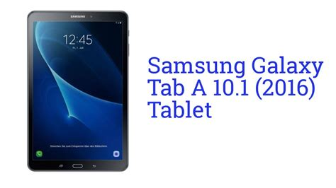 samsung galaxy tab a 10 1 tablet launch may 2016