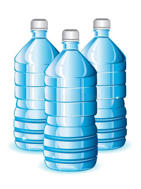 clipart acqua bottiglie di acqua illustrazione vettoriale illustrazione