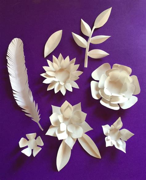 folded paper flower template www imgkid the image