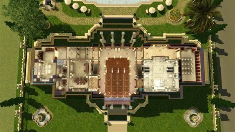 fleur de lys mansion floor plan mod the sims fleur de lys