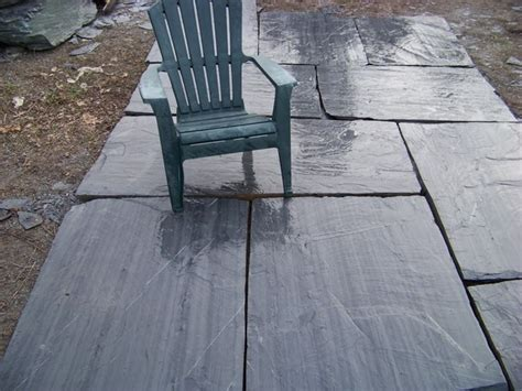 Slate Pavers For Patio Our Ginormous Ascot Grey Slate Pavers Are Oversized To Create A Look With A Maximum Effect