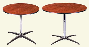 Different Types Of Tables In Html Cafe Table Rental In Chicago Area