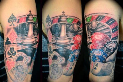 jogo tattoo maker a tatuagem de roleta de poker