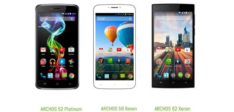 android phones 2015 archos intros three android smartphones ahead of mwc 2015