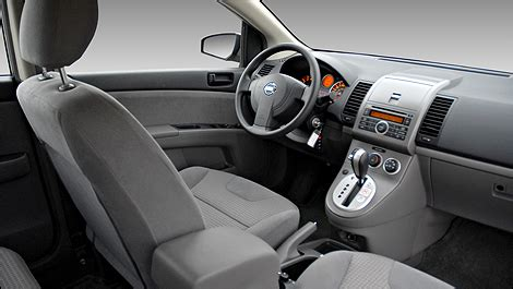 2008 nissan sentra interior car reviews from industry experts auto123