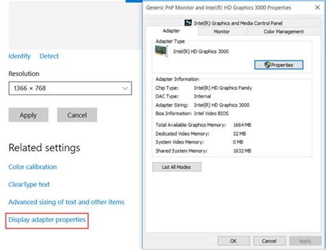 resetting windows display default how to change screen resolution display settings in