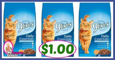 printable 9 lives cat food coupons publix hot deal alert 9lives cat food only 1 00 after