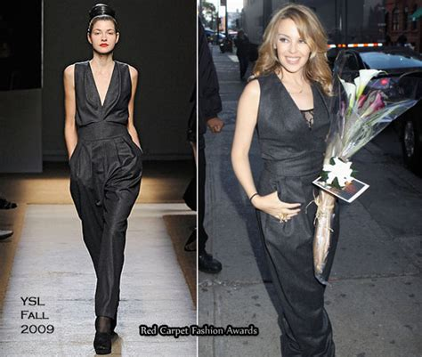 Who Wore The Ysl Jumpsuit Better by Social Events Of The Week Carpet Fashion Awards