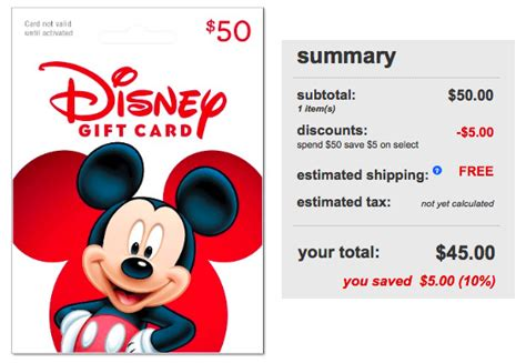 Redbox Gift Cards At Target - target com 50 disney gift card only 45 shipped hip2save