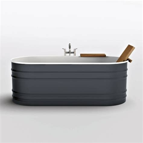 Vieques Bathtub by Steel Tub From Agape New Vieques Vas911 Has A Rustic Appeal