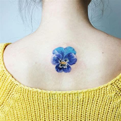 pansy tattoo rit kit on instagram the third eye for