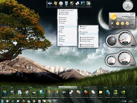 xtreme themes for windows 7 wincustomize explore winstep windows 7 xtreme