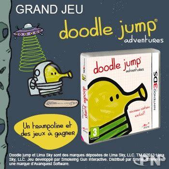 doodle jump le jeu grand jeu doodle jump adventures un troline et des