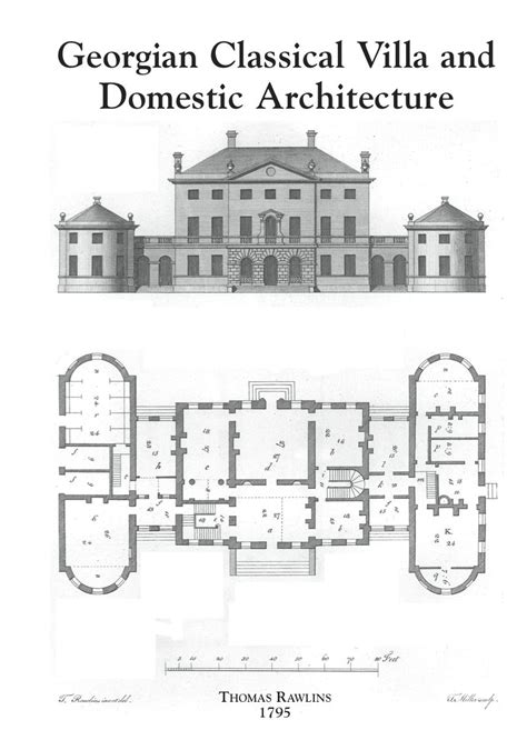Classic Georgian House Plans by 190 Georgian Arch Jpg 858 215 1 207 Pixels Floor Plans