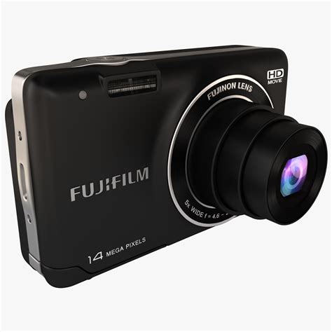 Fujifilm Finepix Jx520 digital fujifilm finepix 3d model
