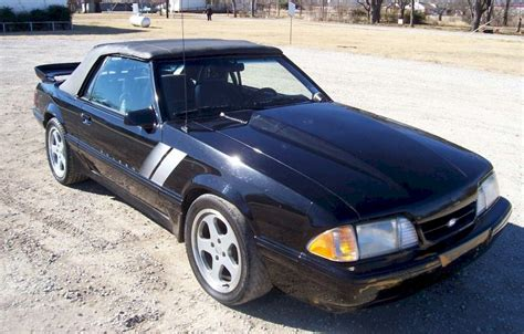 1987 mustang saleen black 1987 saleen ford mustang convertible