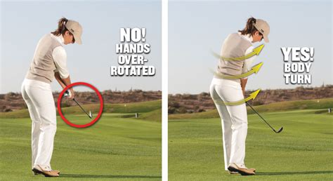 use of right hand in golf swing learn like a pro golf tips magazine