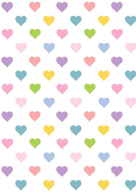 printable kawaii paper free printable heart pattern paper kawaii free