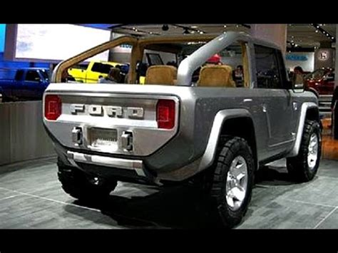 ford bronco 2017 changes, design, engine, review youtube