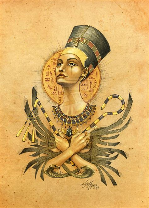 nefertiti by lab 27 on deviantart